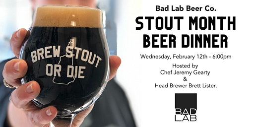 Stout Month Beer Dinner