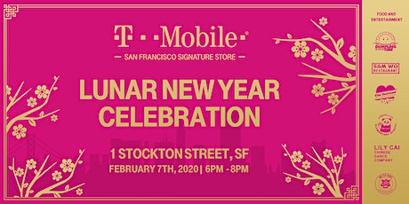 T-Mobile San Francisco Signature Store Lunar New Year Event tickets