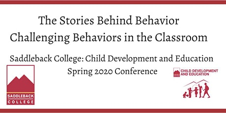The Stories Behind Behavior: Challenging Behaviors in the Classroom tickets