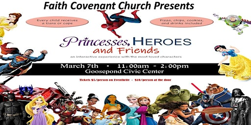 Princesses, Heroes, and Friends