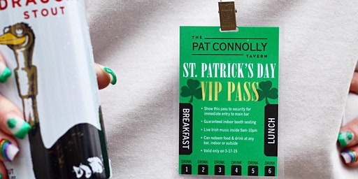 St. Patrick's Day VIP Pass