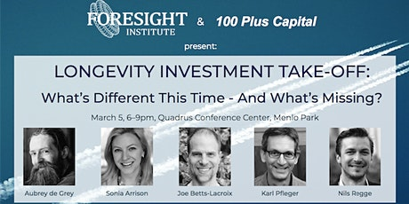 Longevity Investment Takeoff: What's Different this Time, What's Missing? tickets