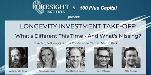 Longevity Investment Takeoff: What's Different this Time, What's Missing?