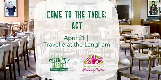 Come to the Table Dinner Series: ACT