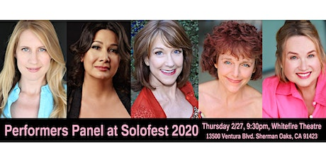 Performers Panel at Solofest 2020 tickets