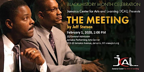 The Meeting by Jeff Stetson - Saturday Family Matinee tickets