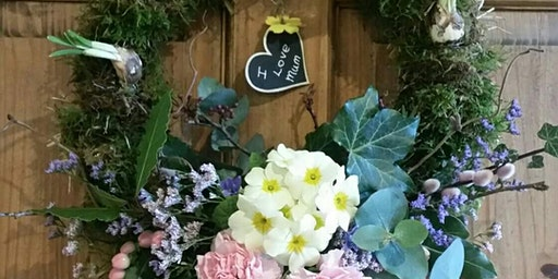 Gardening Lady Spring/Easter/ Mother's Day Wreath