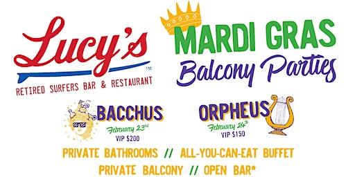 Mardi Gras Balcony Watch Parties!