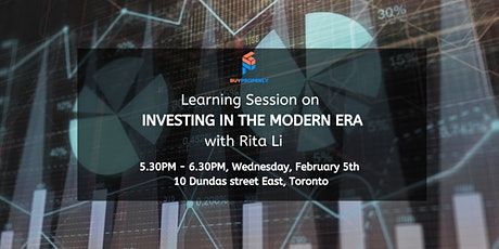 Investing in the Modern Age with Rita Li tickets