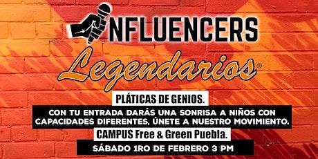 Pláticas de Genios / Influencers Legendarios boletos