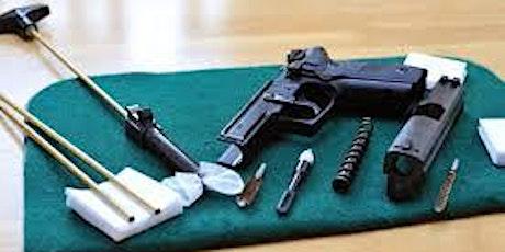 $30 BASIC GUN CLEANING & MAINTENANCE CLASS tickets