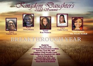 Kingdom Daughter's 2020 Summit tickets