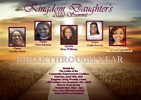 Kingdom Daughter's 2020 Summit