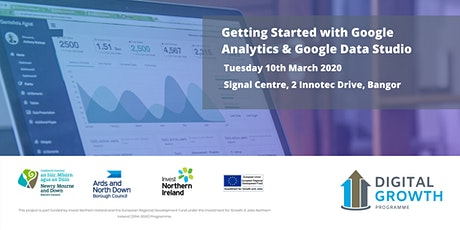 Getting Started with Google Analytics and Google Data Studio tickets