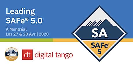 Leading SAFe® avec certification SA 5.0 - Montréal billets