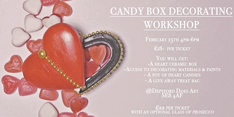 Valentines Day: Candy Box Decorating Workshop tickets
