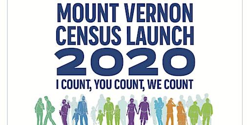 Mount Vernon Census 2020 Launch