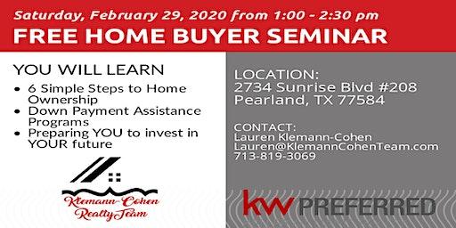 Copy of Free Home Buyer Seminar