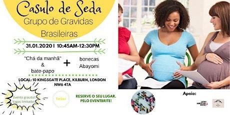 Casulo de Seda - Grupo para Grávidas Brasileiras ingressos