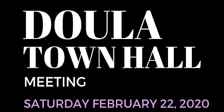 Los Angeles County Doula Town Hall tickets