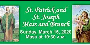 The 2020 St. Patrick's & St. Joseph's Mass & Brunch