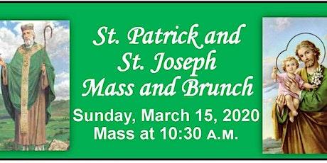 The 2020 St. Patrick's & St. Joseph's Mass & Brunch tickets