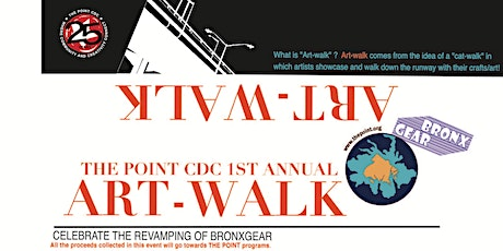 THE POINT CDC 1st Annual ART-WALK: Celebrate the Revamping of BronxGear! tickets
