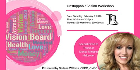 Unstoppable Vision Workshop tickets