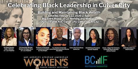 Celebrating Black Leadership in Culver City 2020 tickets