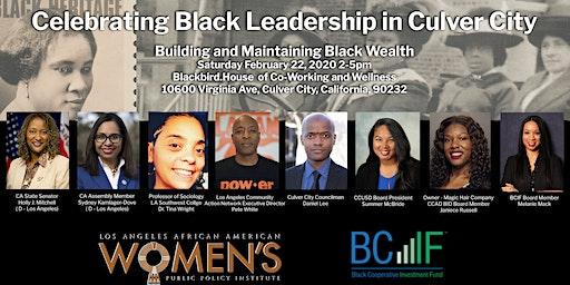 Celebrating Black Leadership in Culver City 2020