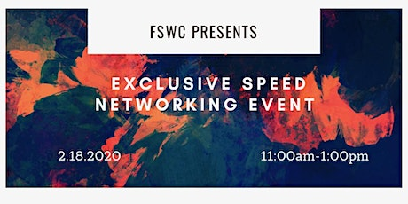 FSWC Speed Networking Event tickets
