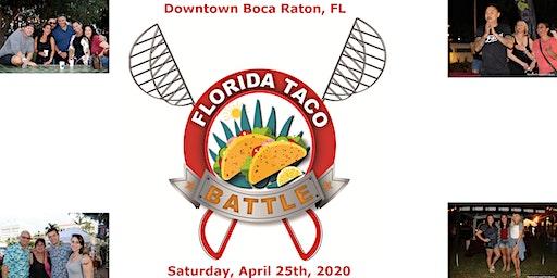 Florida Taco Battle, A Fiesta Affair!