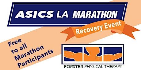 Asics LA Marathon Recovery Event tickets