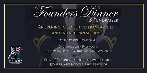 Founders Dinner and Fundraiser