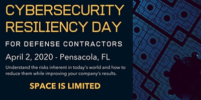 POSTPONED – Cybersecurity Resiliency For Defense Contractors – Gulf Coast