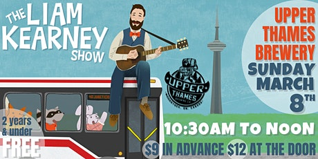 The Liam Kearney Show at Upper Thames Brewery tickets