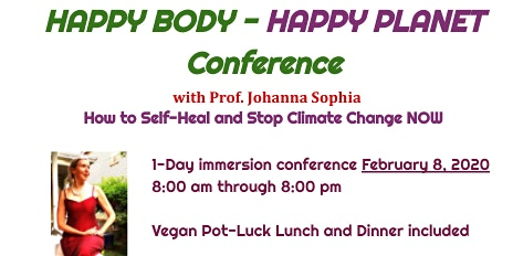 HAPPY BODY - HAPPY PLANET - 1-Day Conference