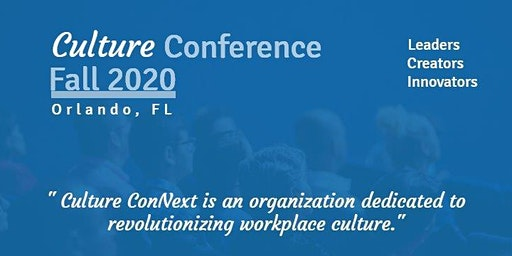 Culture ConNext Fall 2020 Conference