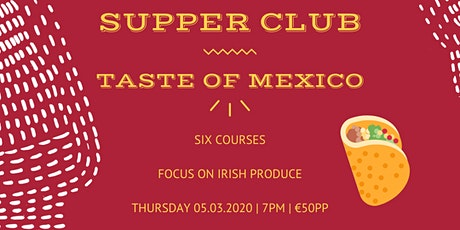 The Cali Kitchen Supper Club tickets