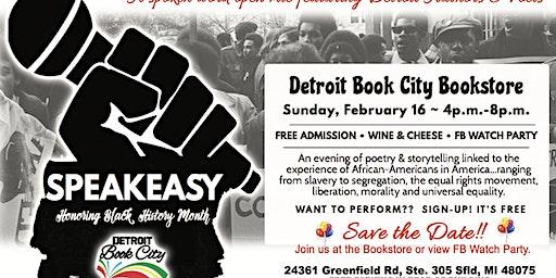 SPEAKEASY:  Honoring Black History Month