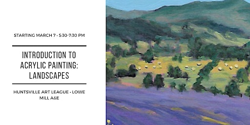 Introduction to Acrylic Painting: Landscapes