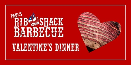 Valentine's Dinner at Paul's Rib Shack tickets