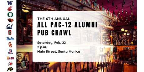 6th Annual All PAC-12 Pub Crawl  tickets