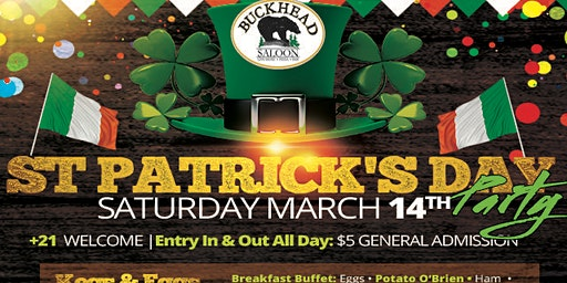 Buckhead Saloon St. Patrick's Day Celebration
