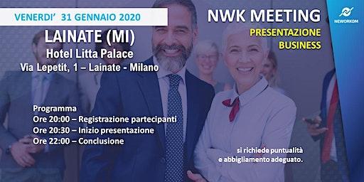MEETING PRESENTAZIONE BUSINESS - NEWORKOM COMMUNITY - LAINATE (MI)