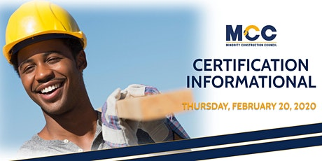 Certification Informational - February 20, 2020 tickets