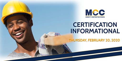 Certification Informational - February 20, 2020