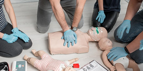 Adult  & Pediatric First Aid/CPR/AED tickets