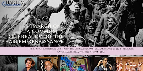 March On: A Community Celebration of the Harlem Renaissance at 100 tickets