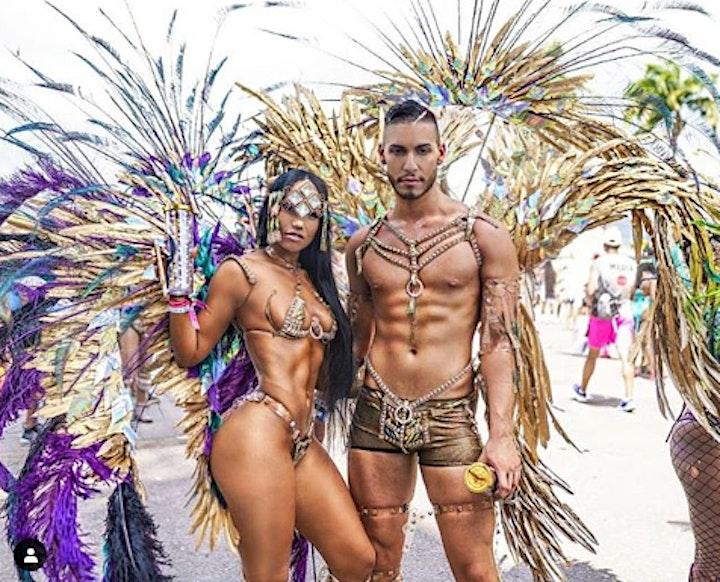 Jamaica Carnival GLAM Hub friend package image
